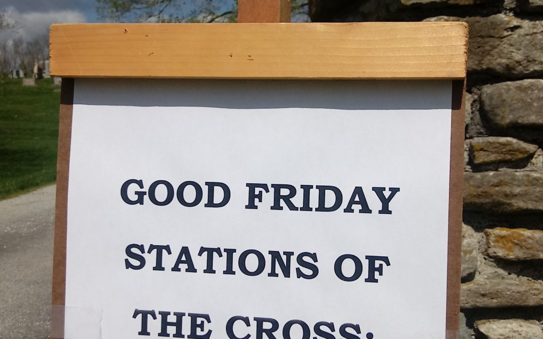 Good Friday Cemetery Stations of the Cross